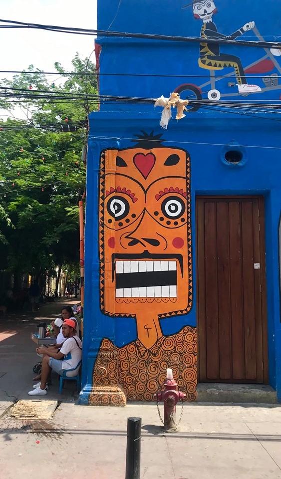 mural en calle