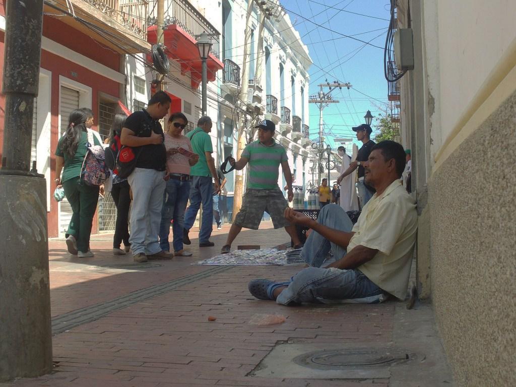 Calles y callejones de Santa Marta
