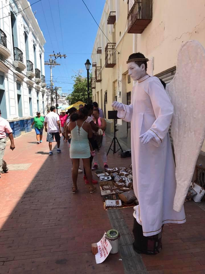 artista de la calle
