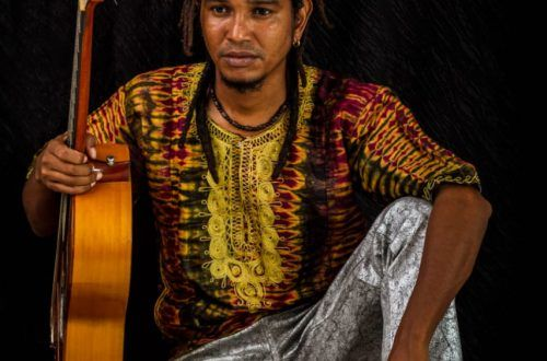 fotografía del cantautor Mulato Bantú