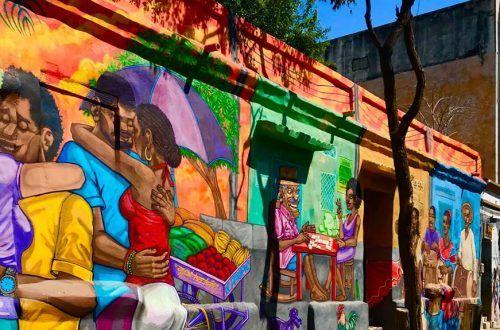 Murales del Bicentenario Santa Marta