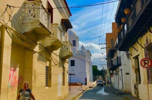 Calle 17 en Santa Marta