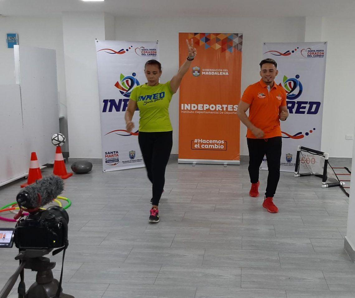 los samarios entrenadores de Inred